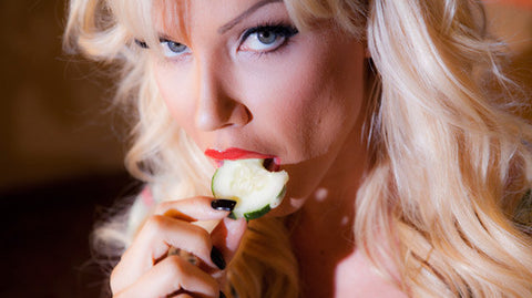 Angie Savage - Eating