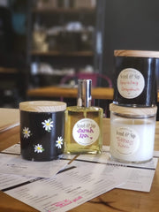 scent & Sip, mother & daughter date, handmade candles and perfume