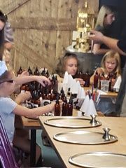 kids parties at scent and sip make custom scents