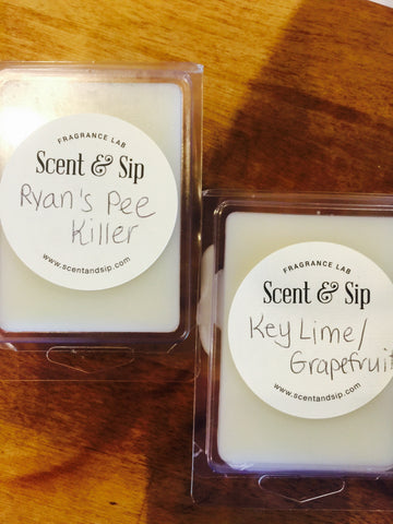 Wax Tarts - personally scented gifts for moms of boys