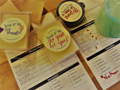 Creating custom scented candles, lotions and bar soap