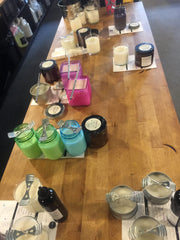 Girls Night Out - making smelly stuff at scent and sip