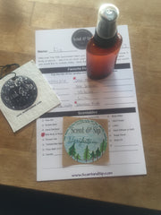 Make your own perfume - oakmoss & bonsai at scent and sip
