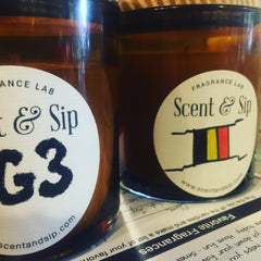 put your brand on your scented candle at scent and sip