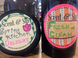 Fresh and Clean soap made at sip and scent