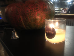 pumpkin spice candle made at scent and sip in Lansdale