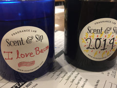 Scent and Sip candles Bacon Lover