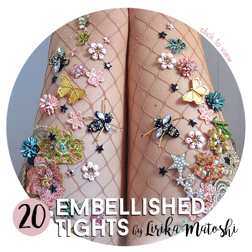 🐝 20 Embellished Tights 👯