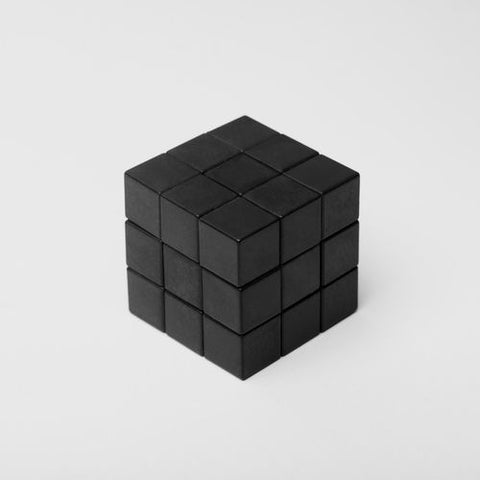 solvable rubick's cube rubicks rubix one colour black how to