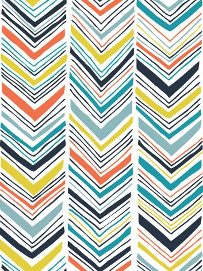 draw your own wallpaper clare power zig zag