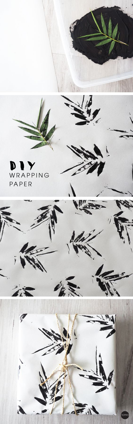 diy wallpaper gift wrapping paper wrap ideas xmas christmas