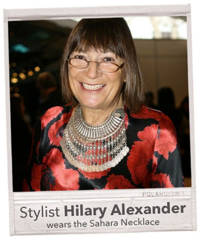 hilary alexander wikipedia necklace stylist journalist necklace from