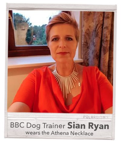 me and my dog cast sian ryan presenter dog trainer spotted celebrity jewellery