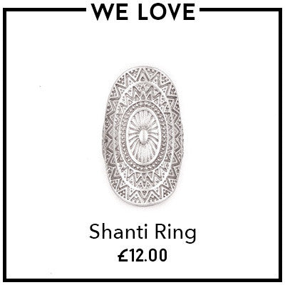 Treaty Boutique Online Store - Shanti Ring