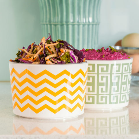 "Duo ""Daisy"" Dip Bowl Duo Lifestyle Image"