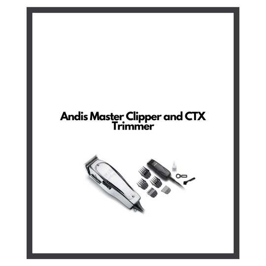 Andis Master Clipper + CTX Trimmer — $139.99