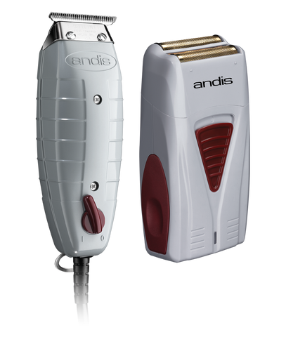 Andis Finishing Combo: Corded Trimmer / Lithium Shaver