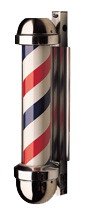 William Marvy Barber Pole No. 333 Non-revolving