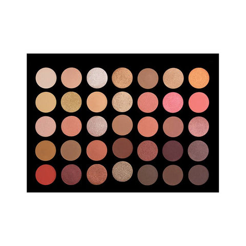 Crown | 35 Color Rose Gold Eyeshadow Palette