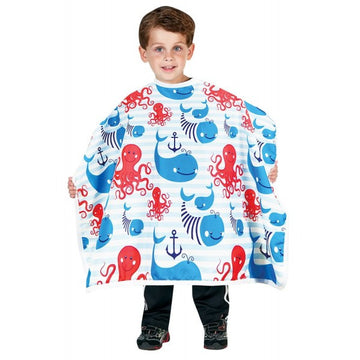 Betty Dain Anchors Away | Kid's Styling Cape 400-AA