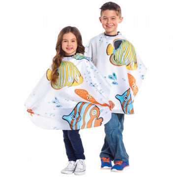 Tropical Fish Cutting & Styling Cape
