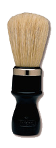 Marvy No. 4P Omega Plastic Shaving Brush