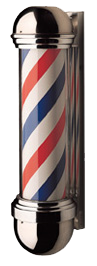 William Marvy Barber Pole No. 824