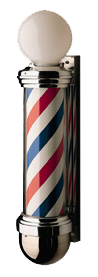 William Marvy Barber Pole No. 824 Two-Light