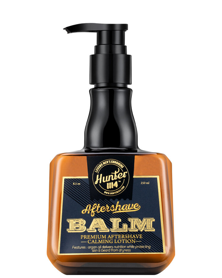 Hunter 1114 Aftershave Balm Premium Aftershave Calming Lotion