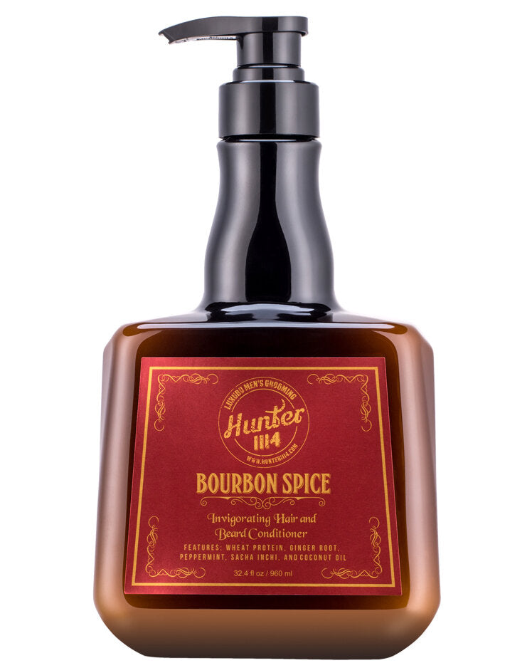 Hunter 1114 Bourbon Spice Invigorating Hair & Beard Conditioner