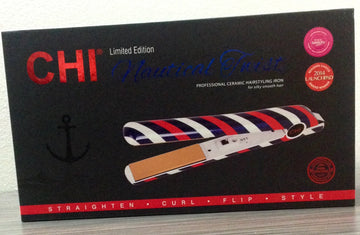 Limited Edition CHI Nautical Twist Professional Ceramic Hairstyling Iron