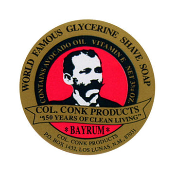 Col. Conk World Famous Glycerine Shave Soap