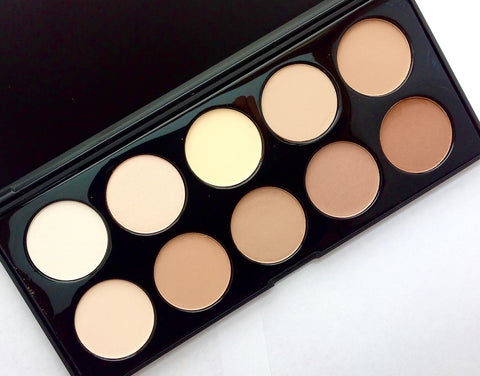Crown | 10 Color Powder Contouring Palette
