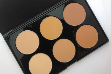 Crown | 6 Color Pressed Powder Foundation Palette