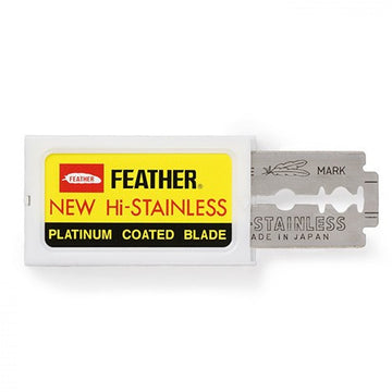 Feather Double Edge Platinum Blades