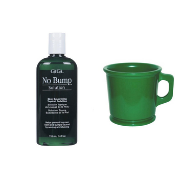 GiGi No Bump Solution and Marvy Rubber Shaving Mug Duo