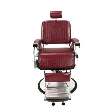 Limited Edition Crimson Lincoln Barber Chair