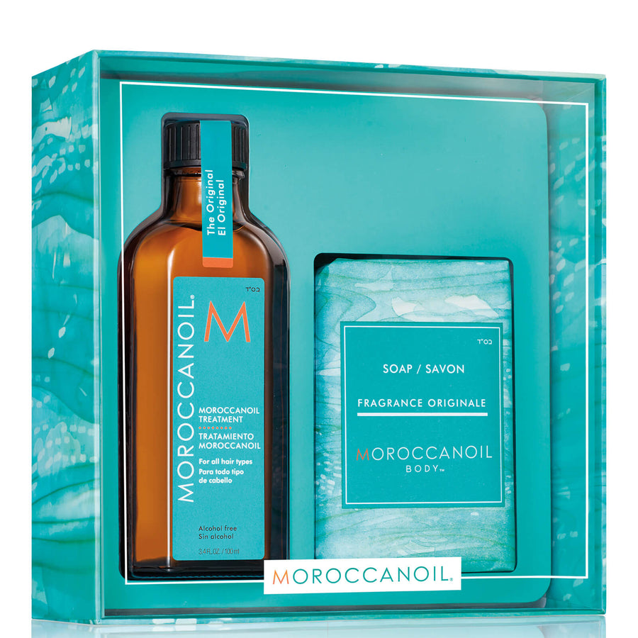 Moroccan Oil Clean and Style Duo: Treatment With Soap