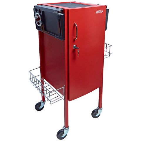 Metal Trolley Red