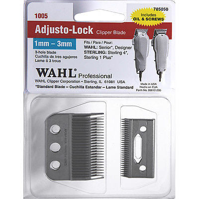 Wahl 3-Hole Adjusto-Lock Blade #1005