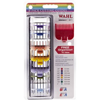 Wahl 8-pack Cutting Color-Coded Guides