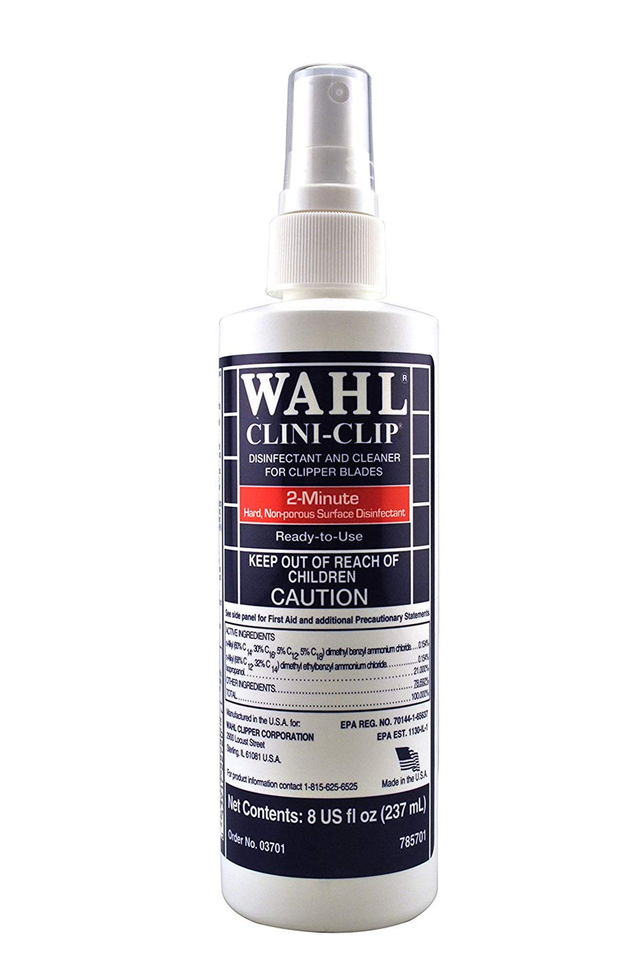 Wahl Clini-Clip Disinfectant and Cleaner Spray