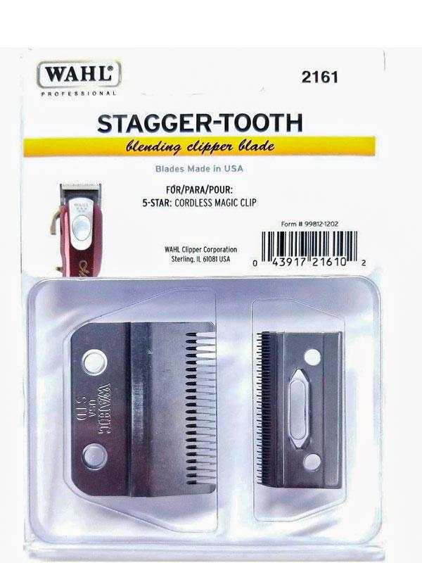 Wahl 2-Hole Clipper Blade Stagger Tooth 2161