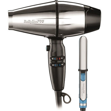 BaBylissPro Steel FX Dryer and Mini Prima2000 Flat Iron