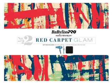 BaBylissPRO Nano Titanium Red Carpet Glam Gift Set