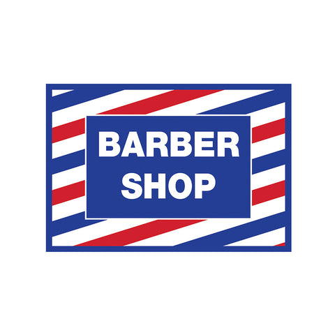 Barber Shop Decal