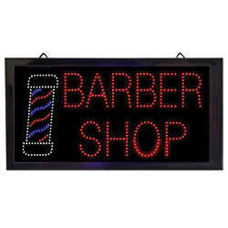 LED Barber Shop Sign