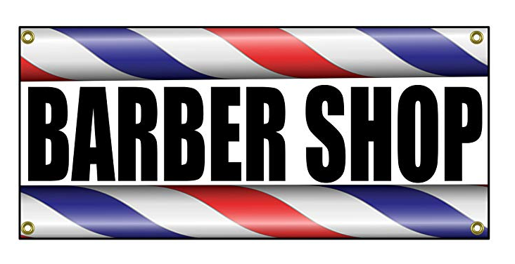 Barber Shop Sign 36