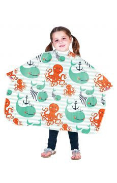 Betty Dain Anchors Away | Kid's Shampoo Cape 271-AA