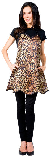 Betty Dain Leopard Couture Stylist Apron 181